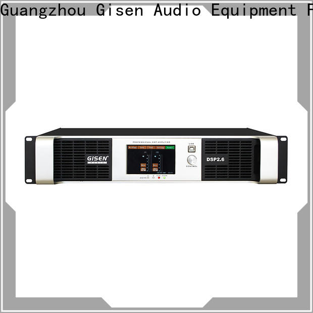 Gisen multiple functions desktop audio amplifier supplier for stage