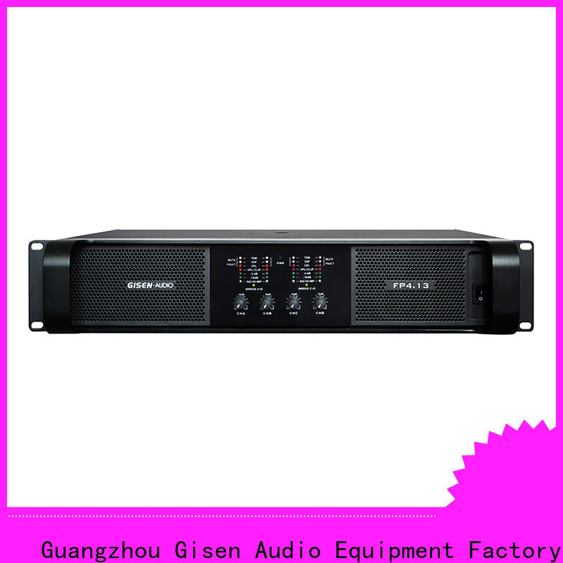 quality assurance power amplifier class td popular one-stop service supplier for performance