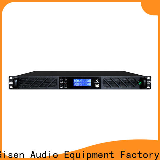 Gisen professional dsp amplifier manufacturer for stage
