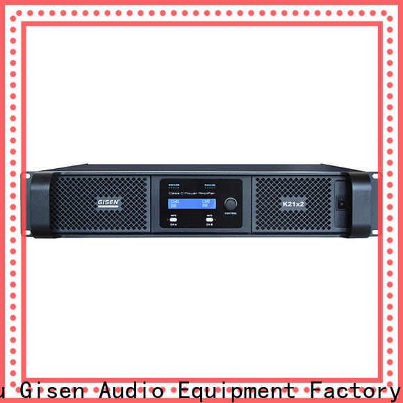 Gisen advanced class d power amplifier fast shipping for entertaining club