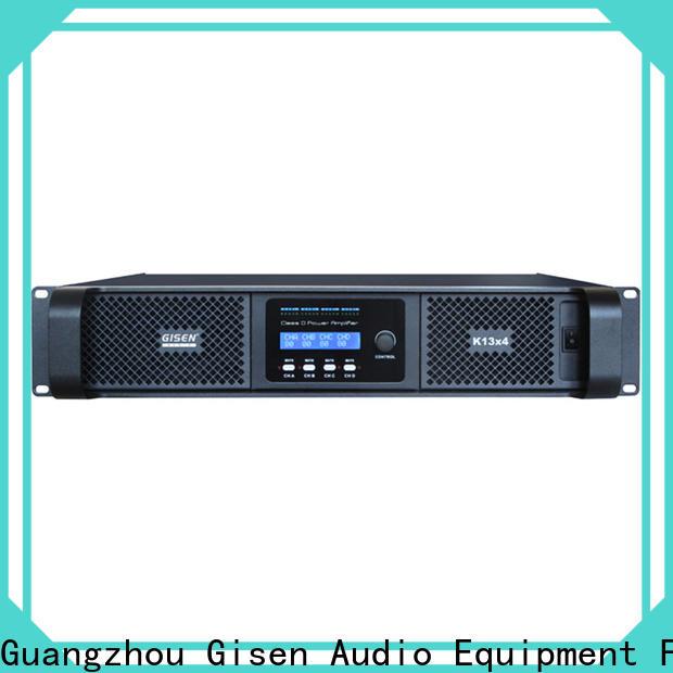 Gisen power best class d amplifier supplier for performance