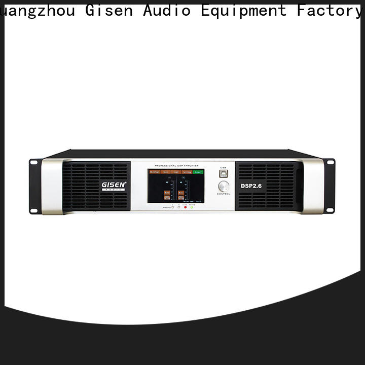 Gisen professional dj power amplifier wholesale for various occations