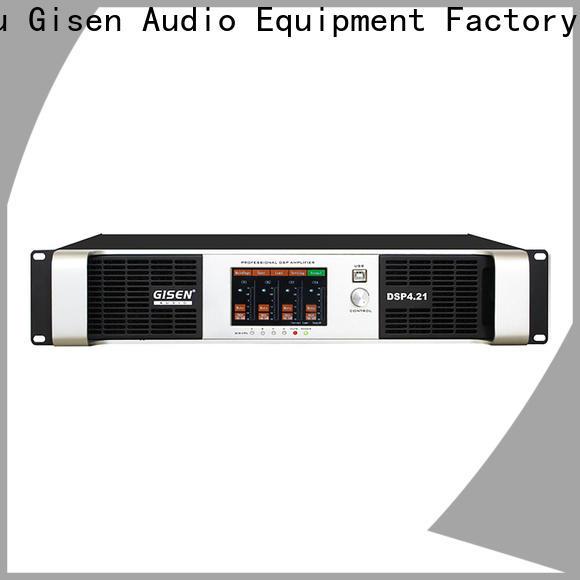 Gisen professional 1u amplifier wholesale for venue