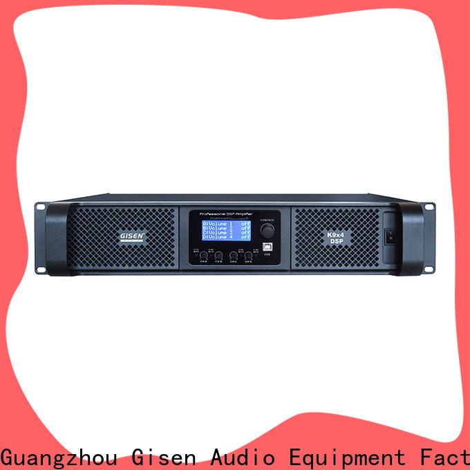 Gisen professional desktop audio amplifier wholesale