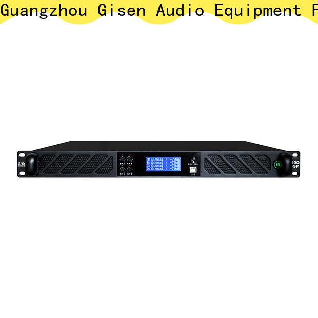 Gisen amplifier desktop audio amplifier supplier for performance