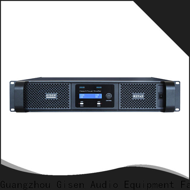 high efficiency sound digital amplifier 2100wx2 manufacturer for meeting