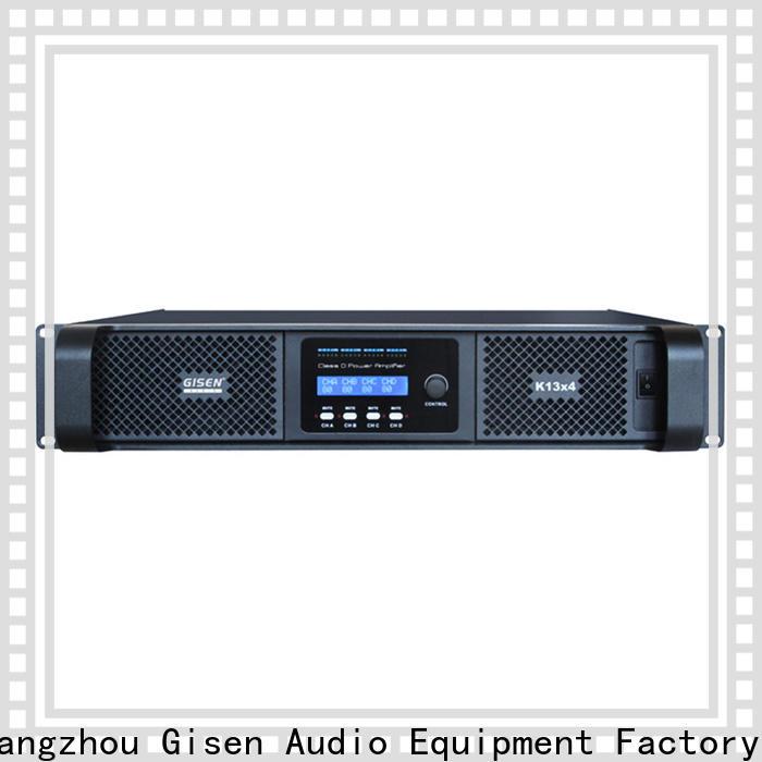 Gisen digital dj amplifier supplier for entertaining club