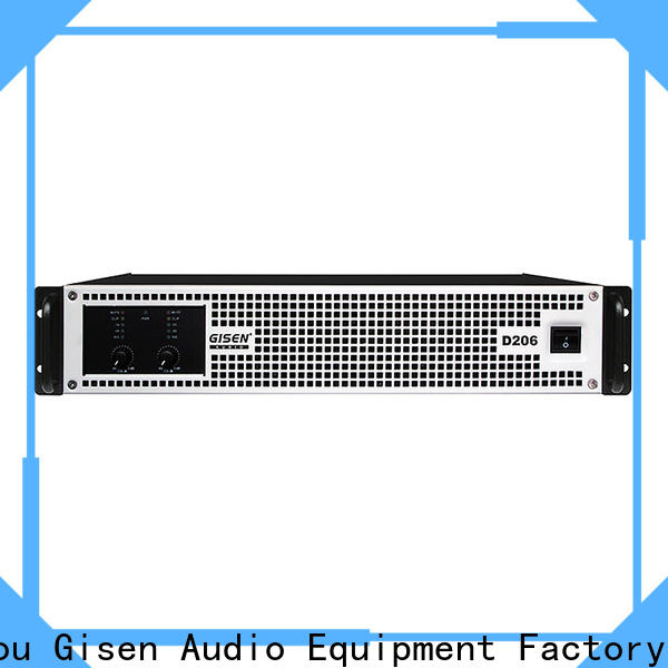 Gisen guangzhou digital audio amplifier fast delivery for meeting