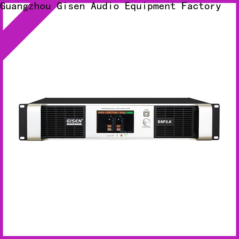 Gisen 2100wx2 studio amplifier factory for stage