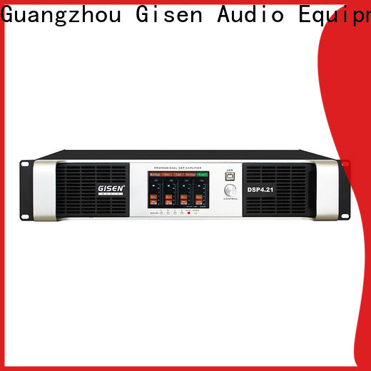 Gisen channel dsp amplifier supplier for various occations