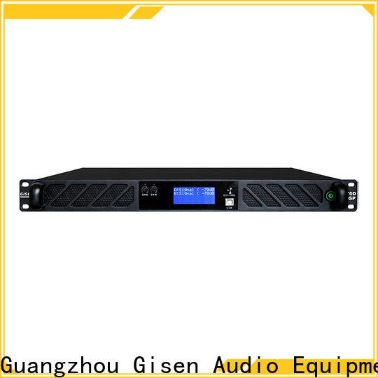 Gisen amplifier multi channel amplifier wholesale for performance