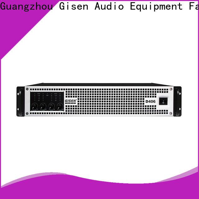 Gisen full range home stereo power amplifier supplier for meeting