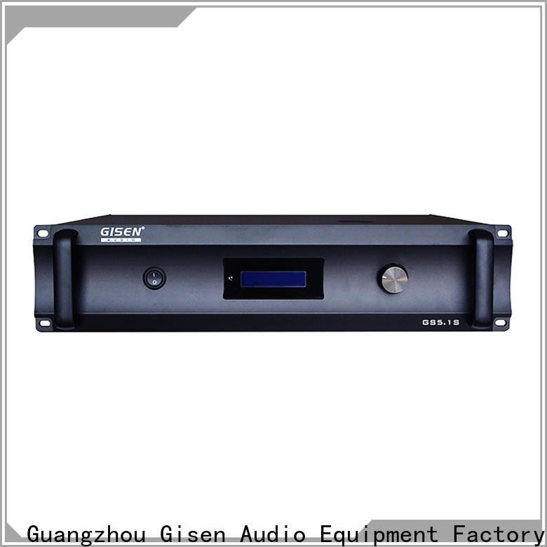 Gisen oem odm home theatre power amplifier buy now for private club