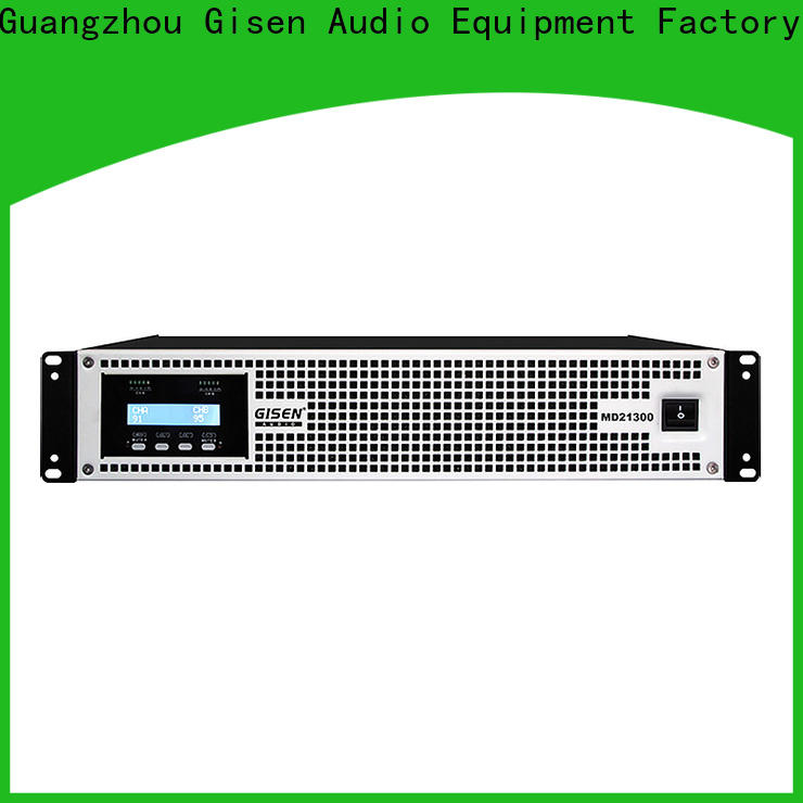 Gisen competitive price stereo amp crazy price for entertaining club