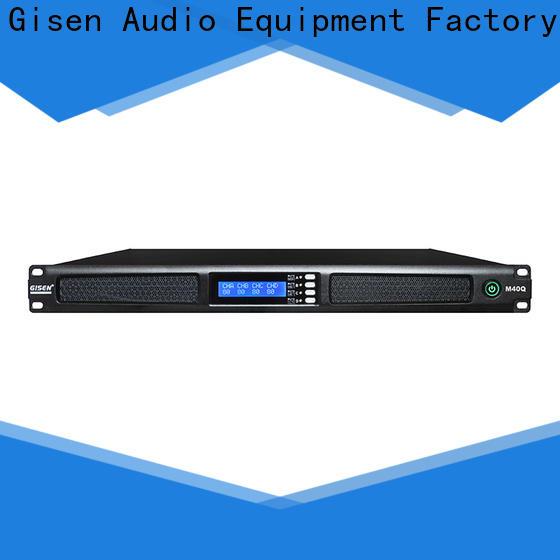 new model digital amplifier 1u supplier for venue