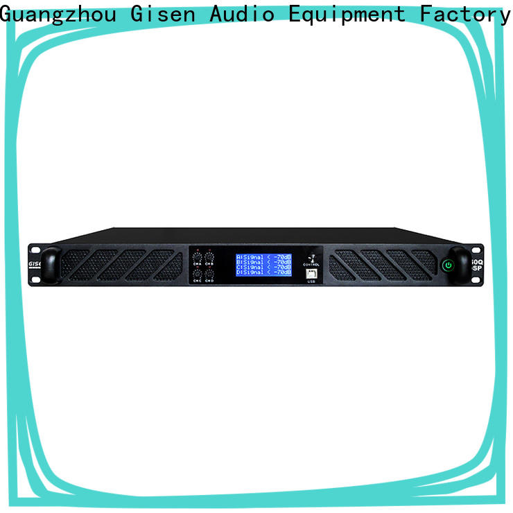 Gisen professional studio amplifier manufacturer for venue
