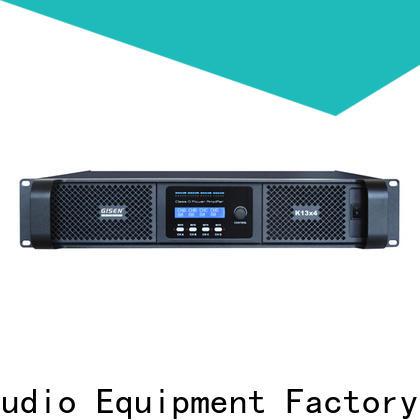 Gisen high efficiency sound digital amplifier wholesale for ktv