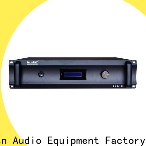 Gisen oem odm home theatre power amplifier manufacturer for private club