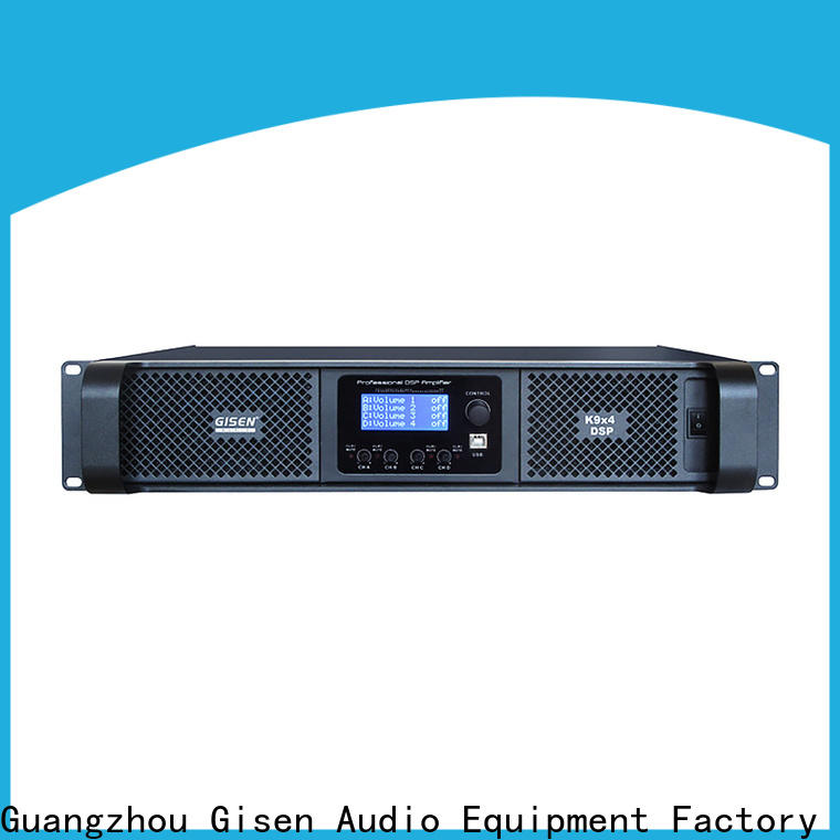 Gisen 2100wx4 studio amplifier wholesale for stage