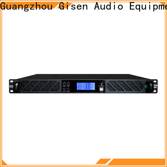 Gisen 2 channel audio amplifier pro manufacturer for various occations