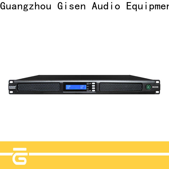 Gisen new model professional power amplifier wholesale for entertainment club