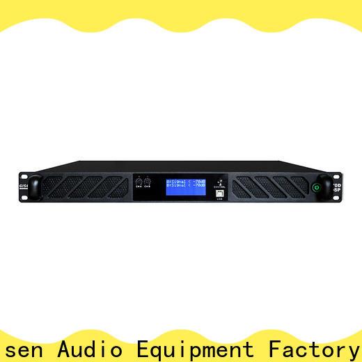 Gisen 1u desktop audio amplifier manufacturer for performance