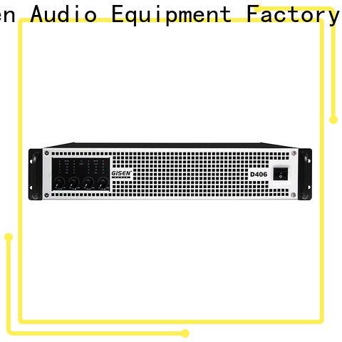 high efficiency dj amplifier 2100wx4 wholesale for entertaining club