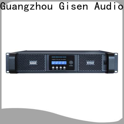 guangzhou best class d amplifier full range manufacturer for entertaining club