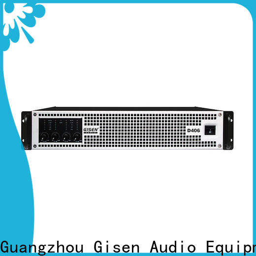 Gisen 2100wx2 hifi class d amplifier fast delivery for stadium