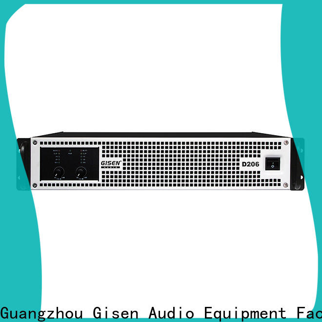 Gisen high efficiency class d audio amplifier fast shipping for performance