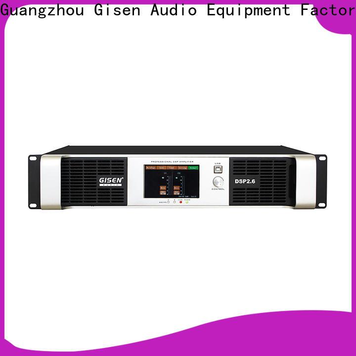 Gisen multiple functions amplifier power supplier