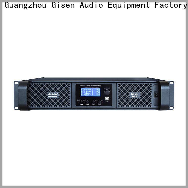 Gisen german multi channel amplifier factory for performance