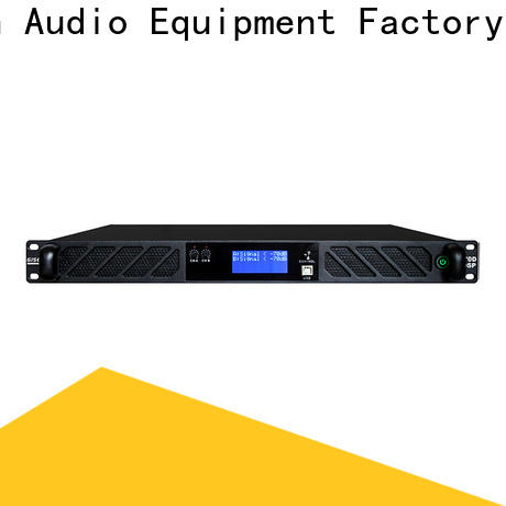 Gisen high quality homemade audio amplifier manufacturer for performance