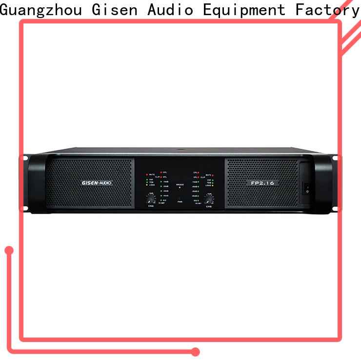 Gisen amplifier professional amplifier source now for night club