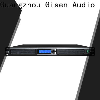 Gisen 4 channel home amplifier supplier for performance