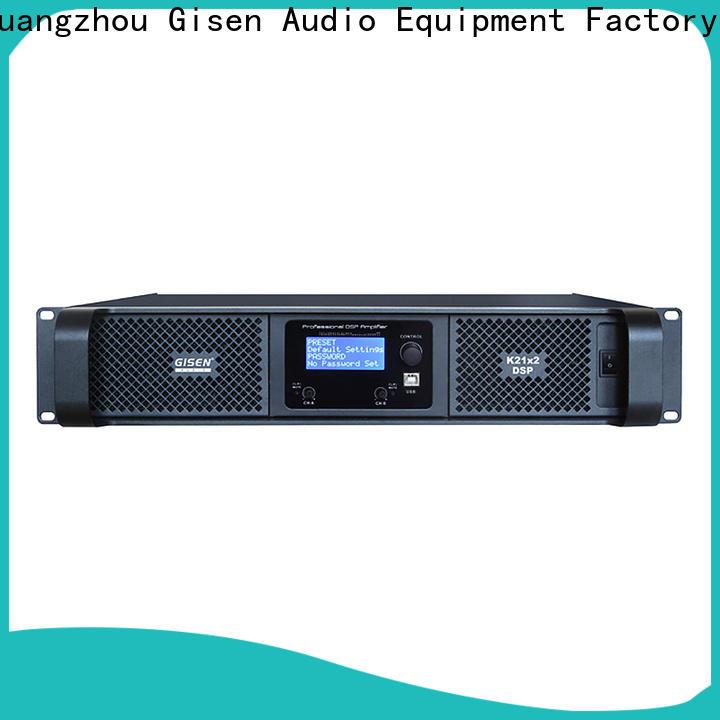 Gisen 8ohm best power amplifier in the world supplier