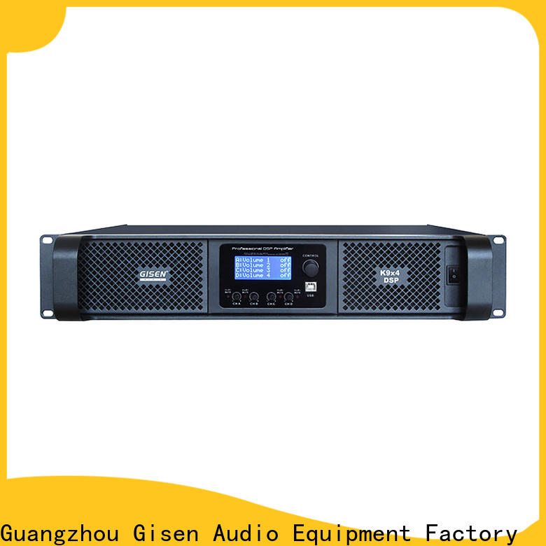 Gisen touch screen homemade audio amplifier supplier
