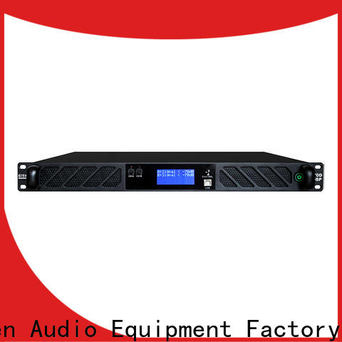 Gisen 8ohm audio amplifier pro supplier for stage