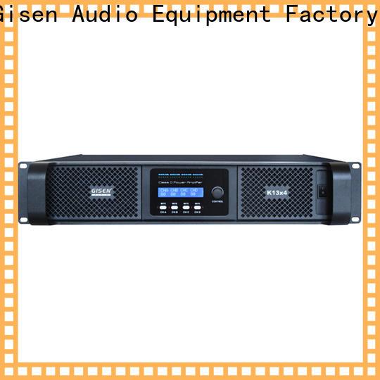 Gisen advanced class d stereo amplifier supplier for performance