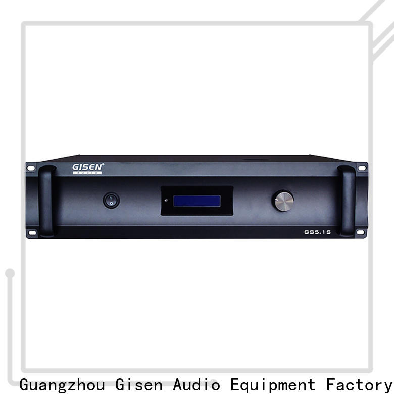 Gisen oem odm best stereo amplifier exporter for home theater