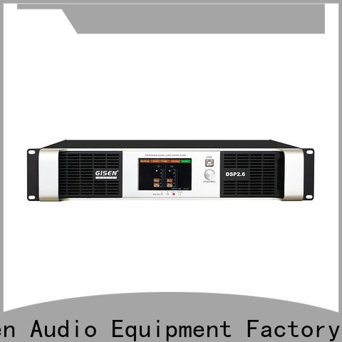 Gisen professional direct digital amplifier factory for performance