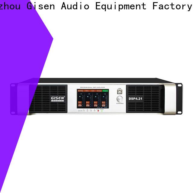 Gisen touch screen homemade audio amplifier supplier for venue