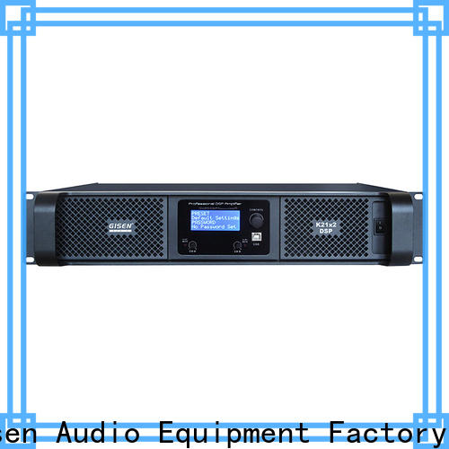 multiple functions 1u amplifier german manufacturer