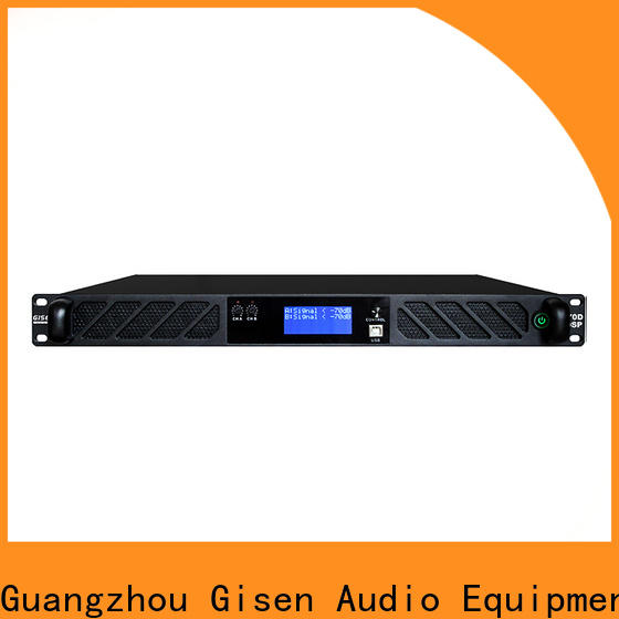 Gisen 8ohm best power amplifier in the world wholesale for venue
