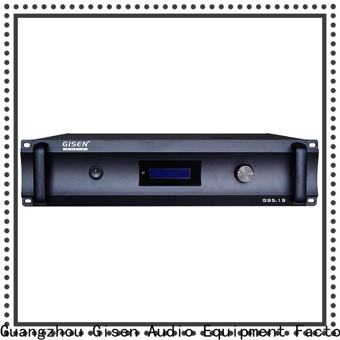 Gisen oem odm best home theater amplifier order now for indoor place