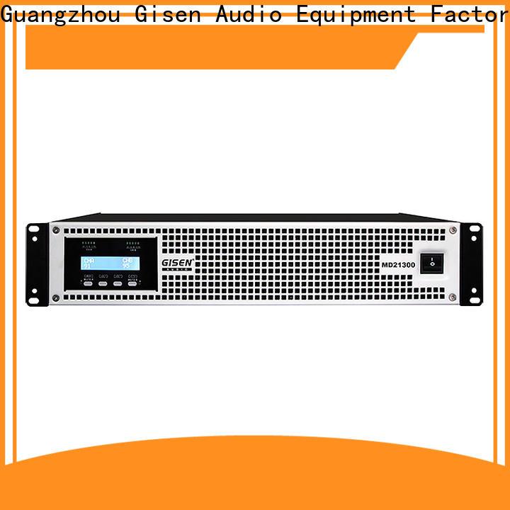 Gisen strict inspection best surround sound amplifier overseas market for vocal concert