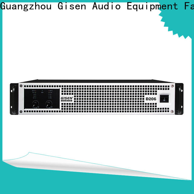 Gisen 2100wx4 home stereo power amplifier fast delivery for ktv