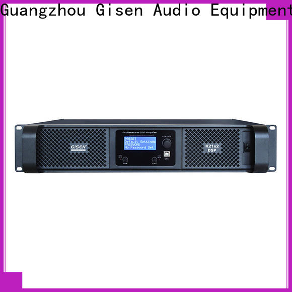 high quality multi channel amplifier 2100wx2 supplier for performance
