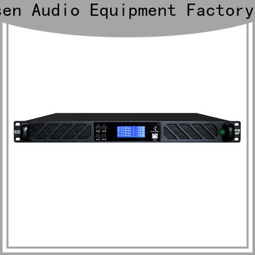 Gisen high quality best power amplifier in the world supplier for stage