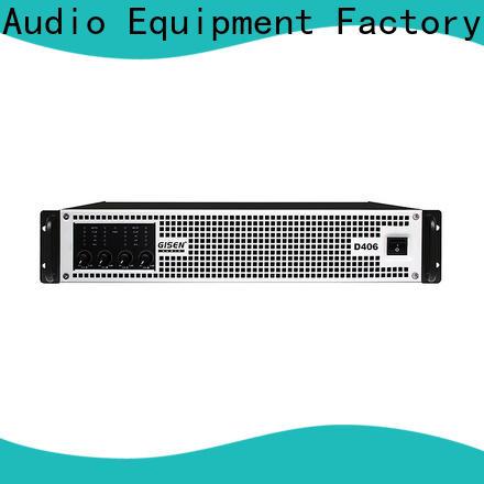 Gisen digital class d amplifier supplier for ktv